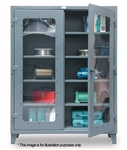 Strong Hold - 56-LD-244 - Clear-View Storage Cabinet