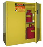 A130 - Securall 30 Gal. Flammable Storage Cabinet, Self-Latch Standard 2-Door