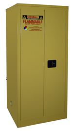 A160 - Securall 60 Gal. Flammable Storage Cabinet, Self-Latch Standard 2-Door
