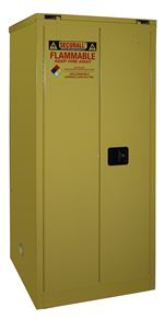 A360 - Securall 60 Gal. Flammable Storage Cabinet, Self-Close, Self-Latch Safe-T-Door
