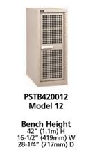 PSTB420012  - Vidmar Bench Height Technical Bench Cabinet